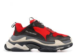 sneakers chaussure de balenciaga mode red black